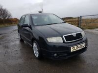 SKODA FABIA VRS 1.9 T.D.I 130 BHP 6 SPEED **** I MAY TAKE A P/X ****