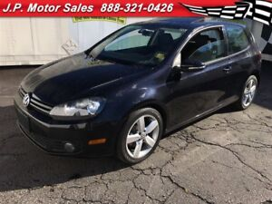 2012 Volkswagen Golf Trendline, Automatic Sunroof, Heated Seats,