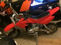50cc pitbike Honda c90 rep stomp demon X lifan loncin