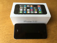 """Apple iPhone 5S, """"Space Gray"""", 16GB on O2"""