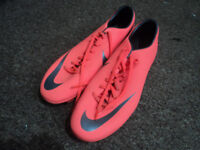 Nike Mercurial Mens Football Boots - Size 12. Used but Excellent Condition.