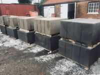 50 Paving Slabs - Natural or Slate Grey