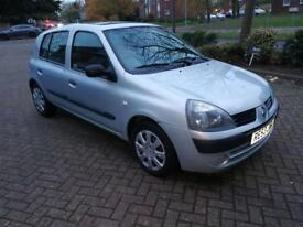 Renault Clio auto reduced to clear