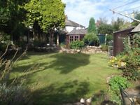 Large DETACHED HOUSE - three bedrooms /2 reception.