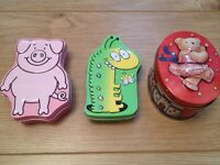 Little tins, ideal for little things
