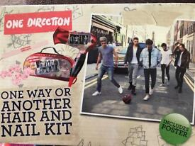 One direction hair dryer and nail kit BN