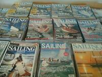 Over 100 sailing mags all as new