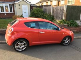 Alfa mito 1.4 veloce 155bhp service history and mot to march 2018