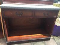 FREE up cycle side unit wood