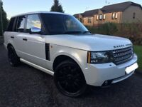 RANGE ROVER VOUGE 3.0 TDV6, 2012 FACELIFT KIT INCLUDING LIGHTS/BUMPERS & SIDE SKIRTS, 10 MONTHS MOT
