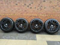 "20"" Alloys with tyres"