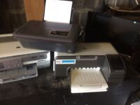 Three HP printers for sale immaculate condition