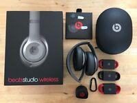 Beats by Dr. Dre Studio 2.0 Wireless - B0501 - Over Ear Headphones - Titanium