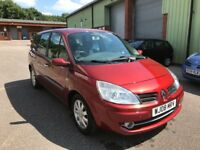 EXCELLENT RENAULT GRAND SCENIC 2.0 AUTOMATIC, 7 SEATER, 61K MILES, NEW MOT, FSH
