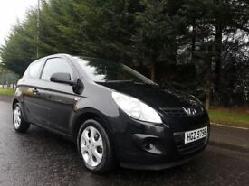 MARCH 2010 HYUNDAI I20 COMFORT 1.2 PETROL 3DOOR HATCHBACK FULL SERVICE HISTORY EXCELLENT CONDITION !