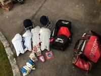 Cricket Equipment and Bags