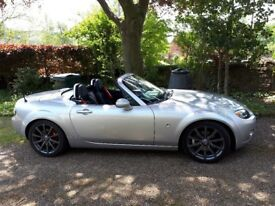 Immaculate 2.ltr MX5 Roadster, e hard top, leather, service, mot