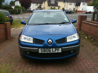 Blue Renault Megane Maxim 1.5DCi Limited Edition 5 Door Hatchback (spares & repairs)
