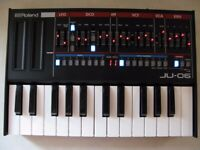 ROLAND JU-06 BOUTIQUE JUNO 106 (Original Version) with K-25M Keyboard (ALL BOXED)