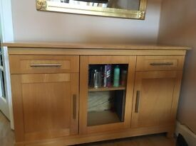 Stunning Large Solid Wood Sideboard