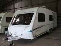 touring caravan 2006 twin axle 6 berth first to veiw will buy. bargain price