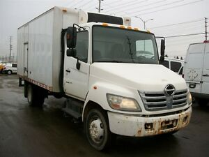 2006 Hino 185 16 ft straight truck with reefer