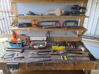 Workbench and diy tool kit