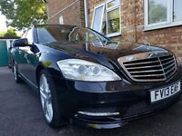 Mercedes s350 lwb diesel bluetec amg line 7G 2013 full service history exellent condition £ 25000