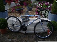 MOUNTAIN BIKE 26INCH WHEELS 18INCH FRAME AS NEW CONDITION BARGAIN £40 FOR QUICK SALE