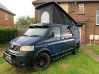 Volkswagen transporter campervan pop top px welcome
