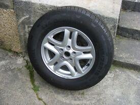Freelander 2 , brand new wheel & tyre