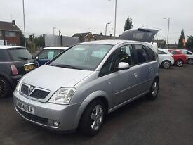 Vauxhall Meriva - 2004 - £1695