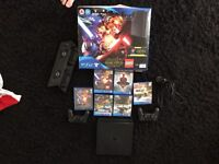 Ps4 with controllers and games