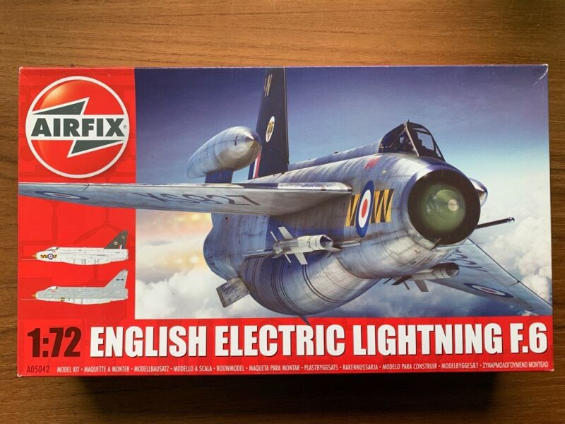 Airfix 1:72 English Electric Lightning F6 Model Kit, used for sale  Beverley, East Yorkshire