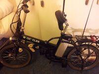 Byocycle electric folding bike
