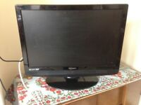 22 inch 'Technika' flat screen, HD Ready TV with built in DVD player and remote control