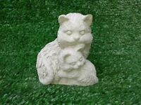 Concrete Ornament of a cat and kitten