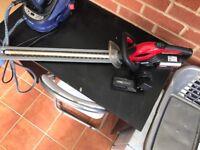 Cobra battery powered Hedge trimmer