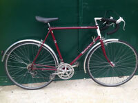 Raleigh Routier 60cm XXL large frame racing road Hybrid bike