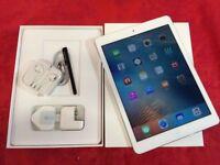 Apple iPad Air 16GB, White, WiFi + Cellular, Unlocked, +WARRANTY, NO OFFERS
