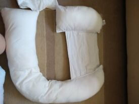 Dreamgenii pregnancy support and feeding pillow for sale