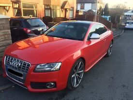 Stunning Audi A5 coupe sport, with complete S5 body kit, remapped to 250Bhp.