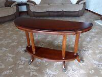 Semi oval Somerset Sofa Table