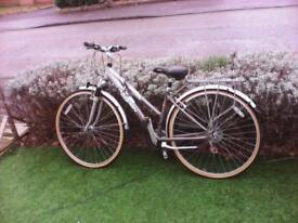 ladies raleigh p4000 lightweight aluminium bicycle