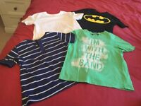 Boys summer bundle of clothes age 5-6 years