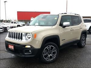 2015 Jeep Renegade LIMITED**LEATHER**NAVIGATION**BLUETOOTH**