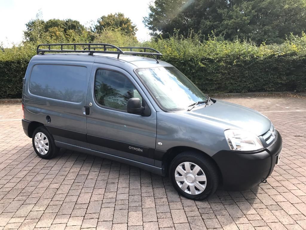 2007 citroen berlingo 1 6 hdi 800td lx van 97k miles new mot roof rack no vat peugeot. Black Bedroom Furniture Sets. Home Design Ideas