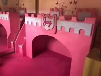 Girls Castle Bed