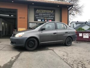 2004 Toyota Echo 4 PORTE SEDAN+AIR CLIMATISER+CD/MP3+FINANCEMENT