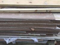 Wood effect fibre cement cladding